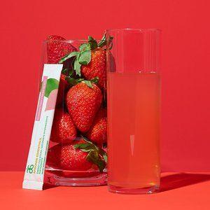 NEW! Arbonne Strawberry Flavor Fizz Sticks